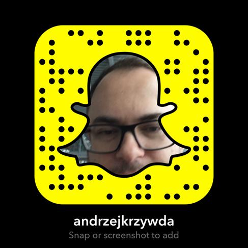 Andrzej Krzywda Snapchat