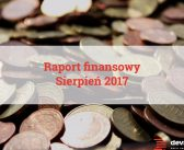 Raport Finansowy: sierpień 2017.