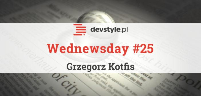 Wednewsday #25 – programistyczne nowinki