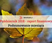 Październik 2018: podsumowanie i raport finansowy.