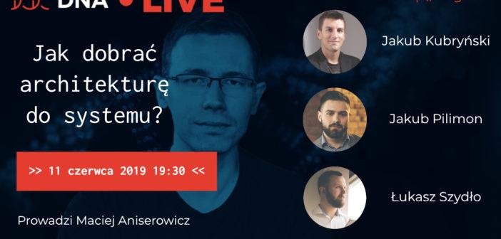 Dyskusja Mentorów #DNA o Architekturze Oprogramowania